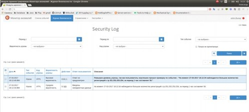 WaveAccess_anti-fraud system_security log