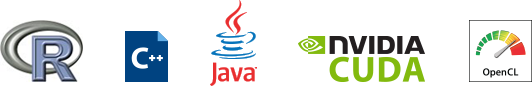 Technologies & platforms:R Development,C++,Java,Cuda,OpenCL