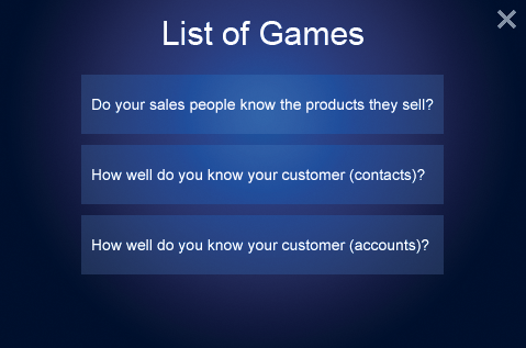 List Of Games, Training employees, Customer Service, Dynamics CRM, WaveAccess Dynamics CRM Gamification Tool, add-on, ms crm add-ons, increase user adoption, learn customer base
