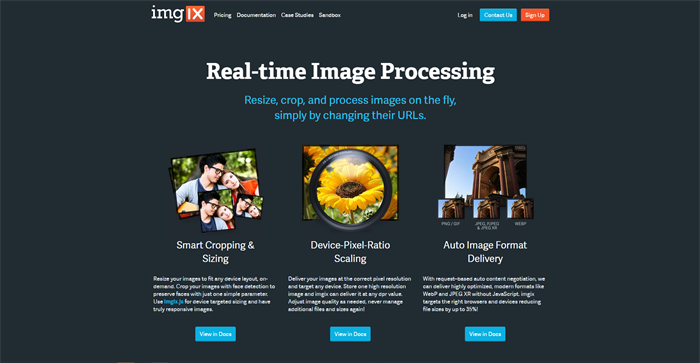 Processing Images Using Imglx
